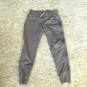 Size 6 grey lululemon sweatpants